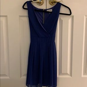 Dresses & Skirts - Royal blue dress with tie in the back